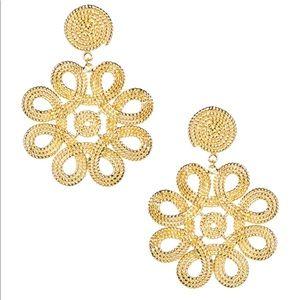 Lisi Lerch Cameran Gold Earrings
